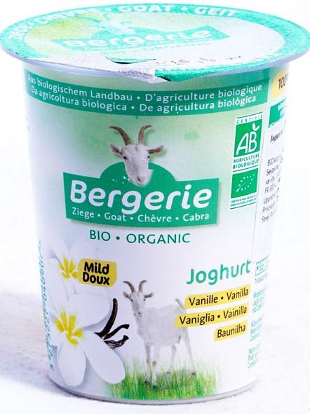 Kozi Jogurt o Smaku Waniliowym Bio 125 g - Bergerie