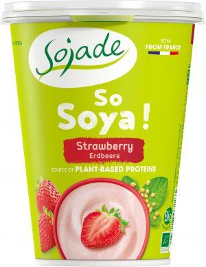 Produkt Sojowy Truskawkowy Bio 400 g - Sojade