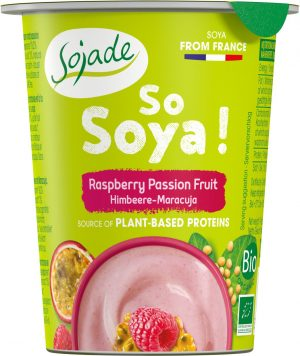 Produkt Sojowy Malinowy Bio 125 g - Sojade