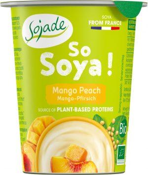 Produkt Sojowy Mango/brzoskwinia Bio 125g - Sojade