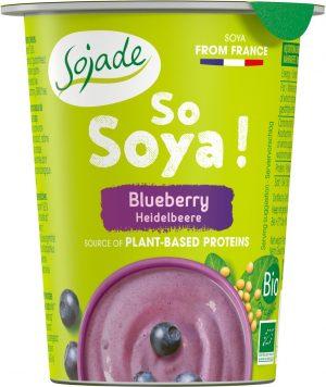 Produkt Sojowy z Borówkami Bio 125 g - Sojade