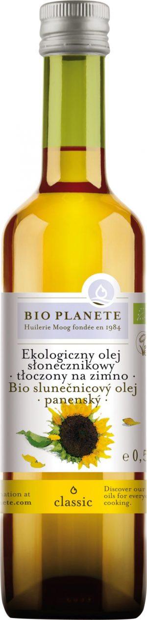 Olej Słonecznikowy Virgin Bio 500 Ml - Bio Planete