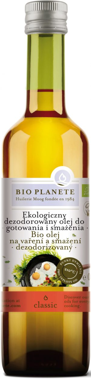 Olej Do Gotowania i Smażenia Bio 500 Ml - Bio Planete