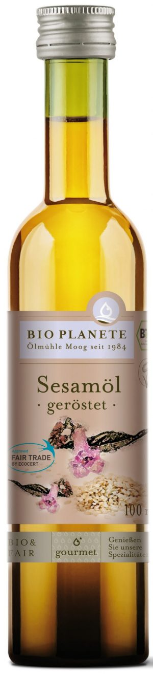 Olej Sezamowy (Z Prażonych Nasion) Bio 100 Ml - Bio Planete
