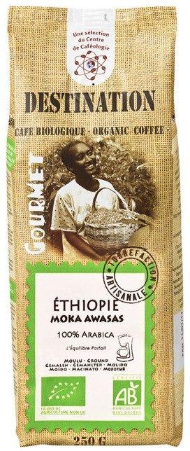 Kawa Etiopia Awasas Mielona Bio 250 g - Destination