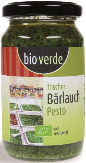 Pesto z Czosnku Niedźwiedziego Bio 165 g - Bio Verde