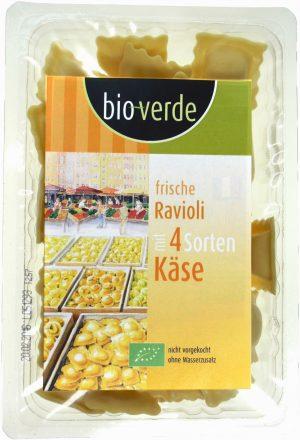 Ravioli 4 Sery Bio 250 g - Bio Verde