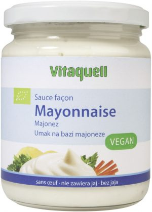 Majonez Bez Jaj Bio 250 Ml - Vitaquell
