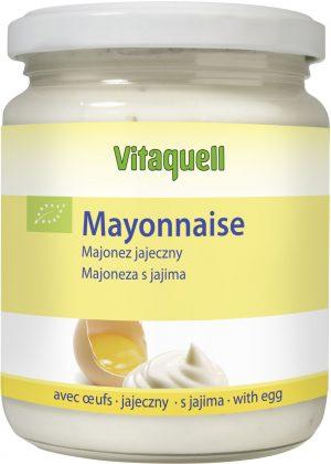 Majonez Jajeczny Bio 250 Ml - Vitaquell