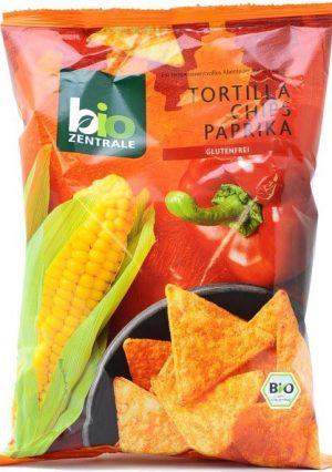 Chipsy Tortilla Paprykowe 125g B/g Eko