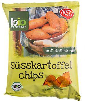 Chipsy z Batatów z Rozmaryn. B/g 75g Eko