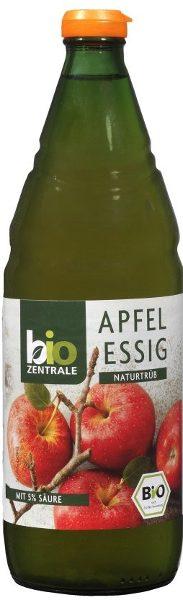 Ocet Jabłkowy Niefiltrowany Bio 750 Ml - Bio zentrale
