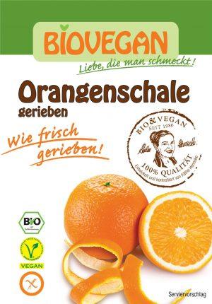 Skórka Pomarańczy Suszona Sproszkowana Bio 9 g - Bio Vegan
