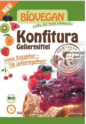 Środek Żelujący Do Konfitur Bio 22 g - Bio Vegan