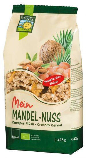 Crunchy Migdałowe Bio 425 g - Bohlsener Muehle