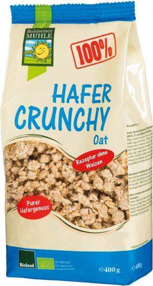 Crunchy Owsiane Bio 400 g - Bohlsener Muehle