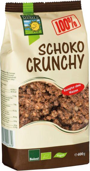 Crunchy Czekoladowe Bio 400 g - Bohlsener Muehle