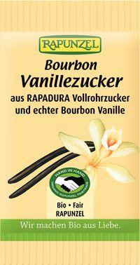 Cukier Waniliowy Bio 8 g - Rapunzel