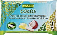 Czekolada Biała z Wiórkami Kokosowymi Bio 100 g - Rapunzel
