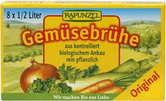 Bulion - Kostki Warzywne (Żółte) Bio 8X10,5 g - Rapunzel