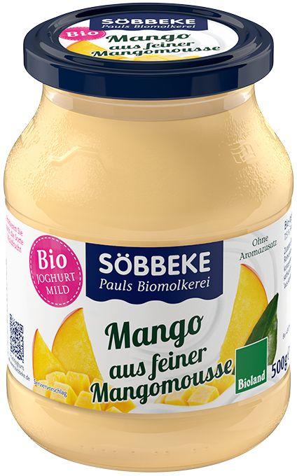 Jogurt Mango Bio 500 g (Słoik) - Sobbeke