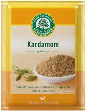 Kardamon Mielony Bio 10 g - Lebensbaum