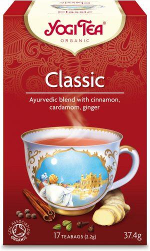 Herbatka Klasyczna Bio (17 x 2,2 G) - Yogi Tea