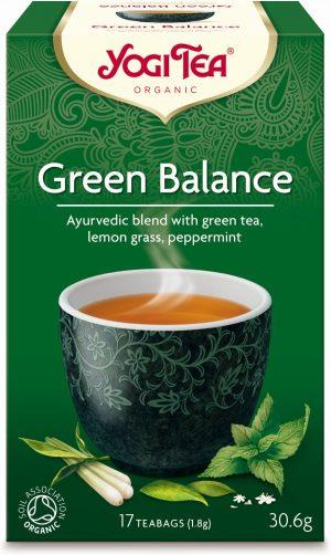 Herbatka Zielona Równowaga Bio (17 x 1,8 G) - Yogi Tea