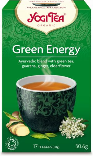 Herbatka Zielona Energia Bio (17 x 1,8 G) - Yogi Tea