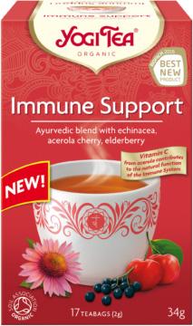 Herbatka Na Odporność Bio (17 x 2 G) - Yogi Tea