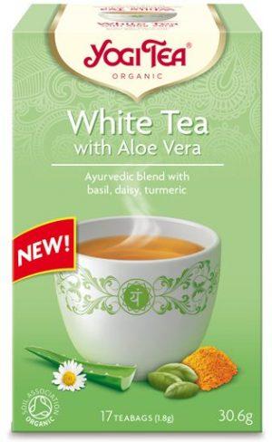 Herbata Biała z Aloesem Bio (17 x 1,8 G) 30,6 g - Yogi Tea