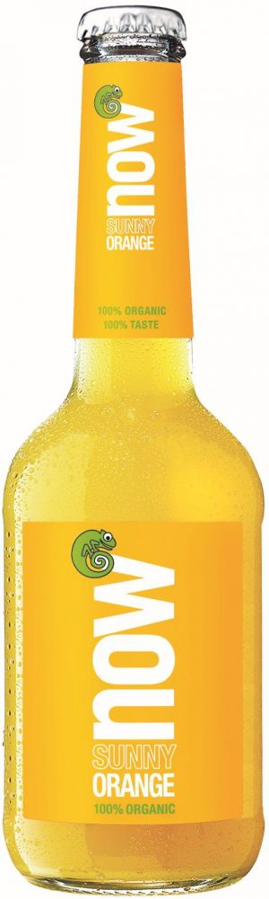 Napój o Smaku Pomarańczowym Bio 330 Ml - Now