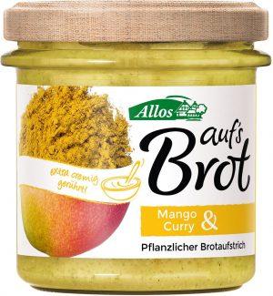 Pasta Kremowa z Mango i Curry Bio 140 g - Allos