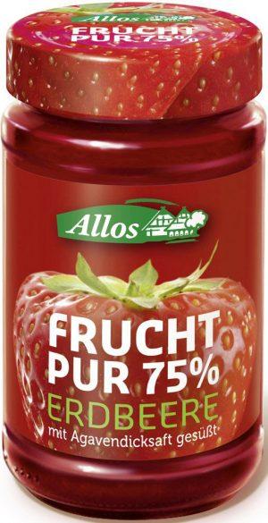 Mus Truskawkowy (75% Owoców) Bio 250 g - Allos