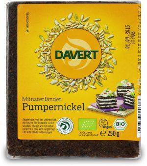 Pumpernikiel Bio 250 g - Davert