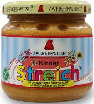 Pasta Słonecznikowa Dla Dzieci Bez Dodatku Cukrów Bio 180 g - Zwergenwiese