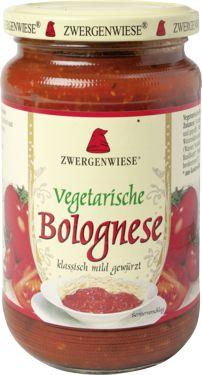 Sos Wegetariański Bolognese Bio 350 g - Zwergenwiese