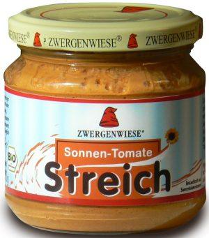 Pasta Słonecznikowa z Suszonymi Pomidorami Bio 180 g - Zwergenwiese