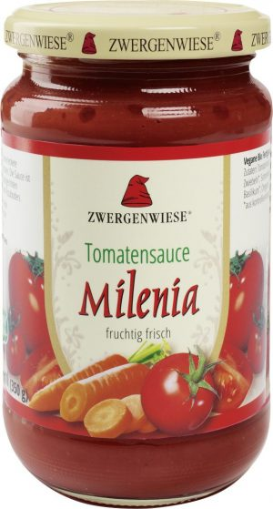 Sos Pomidorowy Milenia Bezglutenowy Bio 350 g - Zwergenwiese