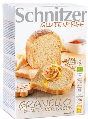 Chleb Kukurydziany z Ziarnami Słonecznika Bio 500 g - Schnitzer