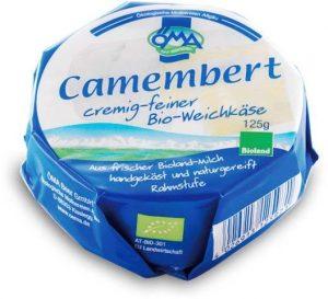 Ser Camembert Bio 125 g - Oma