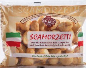 Przekąski Serowe Wędzone (Scarmozetti Affumicate) Bio 150 g - Oma