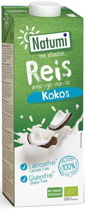 Napój Ryżowo-Kokosowy Bio 1 l - Natumi