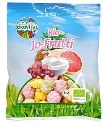 Żelki Owocowo- Jogurtowe Bezglutenowe Bio 80 g - Okovital