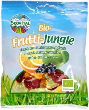 Żelki Zwierzaki Owocowe Bez Laktozy Bezglutenowe Bio 100 g - Okovital