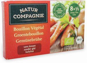 Bulion - Kostki Warzywne Bez Zawartości Drożdży Bio 80 g - Natur Compgnie