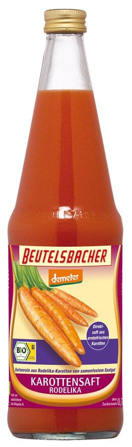 Sok z Marchwi Rodelika Bio 700 Ml - Beutelsbacher