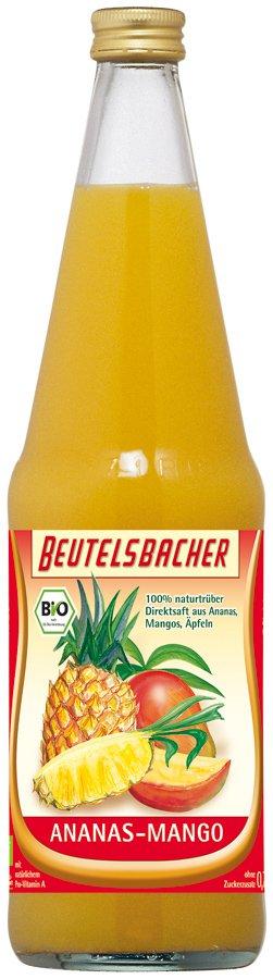 Napój Ananas-Mango Bio 700 Ml - Beutelsbacher