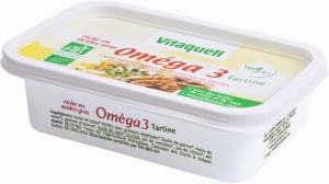 Margaryna Omega-3 Bio 250 g - Vitaquell