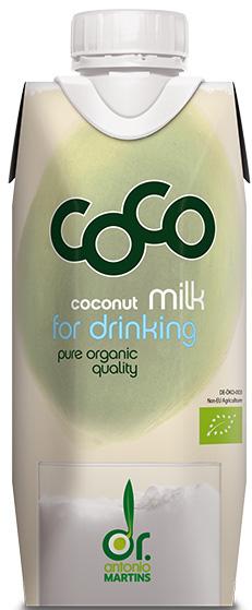 Mleczko Kokosowe Do Picia Bio 330 Ml - Coco (Dr Martins)